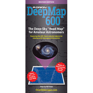Orion Poster Deep Map 600, carta pieghevole