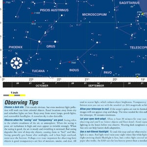 Orion Poster Deep Map 600, folding star chart