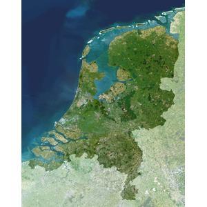 Carte géographique Planet Observer Planète Observer Pays-Bas