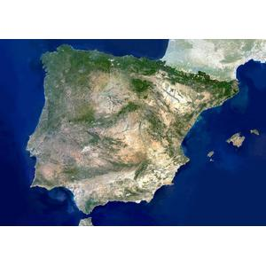 Planet Observer Mappa Spagna