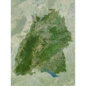 Carte régionale Planet Observer Planète Observer Bade-Wurtemberg