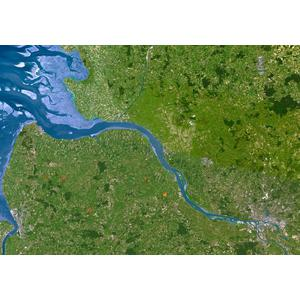 Planet Observer Mapa regional : Hamburgo