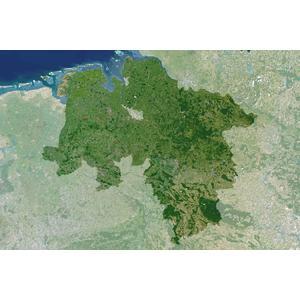 Planet Observer Regional-Karte Niedersachsen
