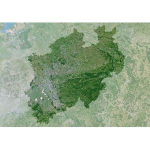 Planet Observer Mapa regional : Renania del Norte-Westfalia