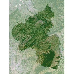 Planet Observer Mappa Regionale Renania - Palatinato