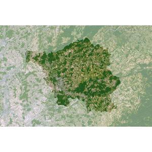Planet Observer Regional-Karte Saarland