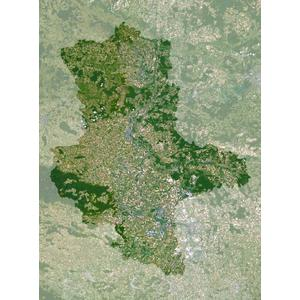 Carte régionale Planet Observer Planète Observer Saxe-Anhalt