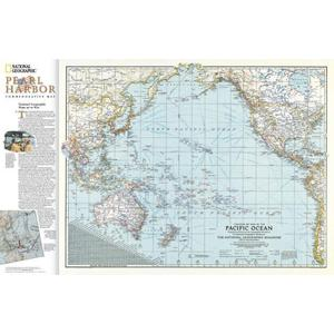 National Geographic Map Pearl Harbor/drama in the Pacific - 2-seitig