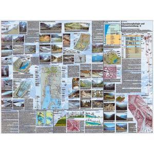 Klett-Perthes Verlag Landkarte Glazialmorphologie u. Klimaentwicklung II