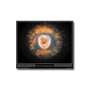 Poster Eskimo Nebula