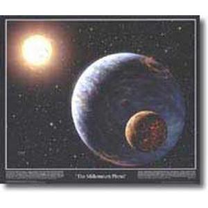 Poster The Millenium planet - HANDMARKS