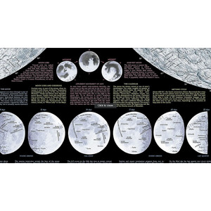 Affiche National Geographic Lune