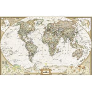 """National Geographic Antike Weltkarte """"Executive"""""""