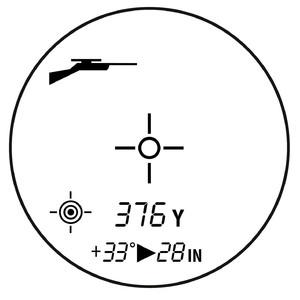 Bushnell Scout DX 1000 ARC laser rangefinder, black