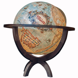 Columbus Globo terráqueo de pie Imperial Vintage 100cm (English)