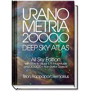 Willmann-Bell Uranometria 2000.0 Deep Sky Atlas