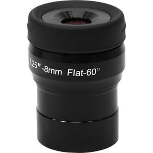Omegon Oculaire Flatfield à champ aplanissant longueur 8mm diamètre 31,75mm (1,25'')