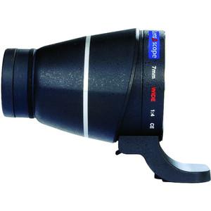 Lens2scope 7mm wide, per Pentax K, nero, visione diritta