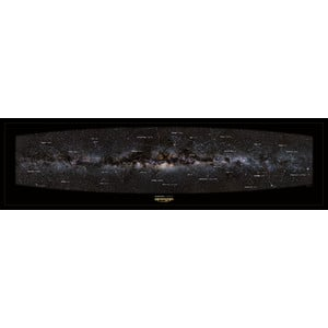 Omegon Panoramic poster of the Milky Way