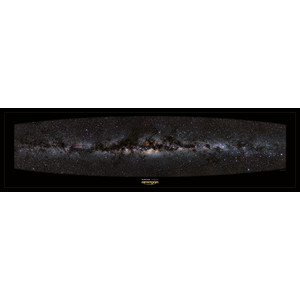 Omegon Poster panorâmico da Via Láctea