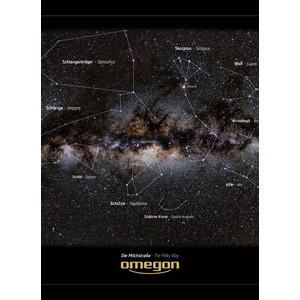 Affiche Omegon Poster panoramique de La Voie Lactée