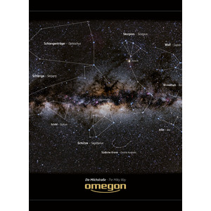 Omegon Poster panoramic Calea Lactee