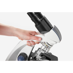 Euromex Microscopio Mikroskop BioBlue, BB.4263, bino, DIN, semiplan, 40x-600x, 10x/18, NeoLED, 1W