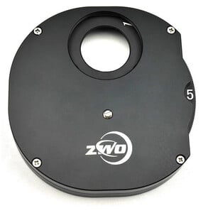 "ZWO Manual filter wheel, 5x1.25"""