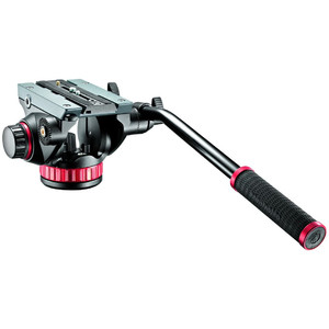 Manfrotto 2-way-panheads MVH502AH video head with flat base