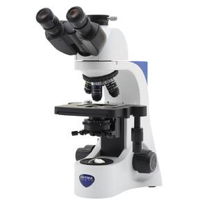 Optika B-383PL, plan, trinocular microscope, X-LED