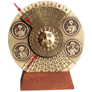 Hemisferium Calendrier perpétuel
