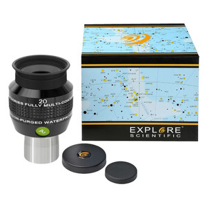 """Explore Scientific Oculare con riempimento gassoso 68° N2 20 mm 1,25"""""""