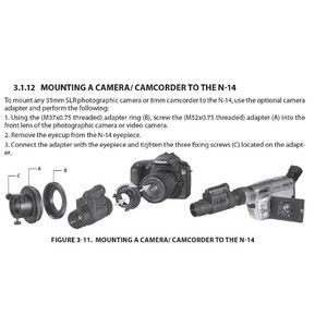 Armasight Adattatore camera #46 (NYX-14, NYX-14 PRO, NYX-7 PRO, N14, N14 PRO, N15)