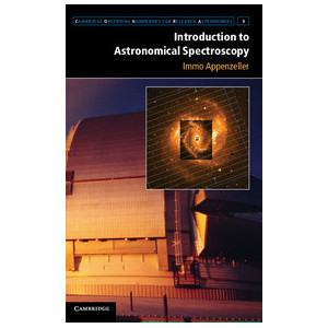 Cambridge University Press Libro Introduction to Astronomical Spectroscopy