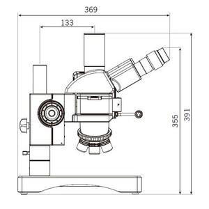 Motic Microscopio BA310 MET-H, trinoculare