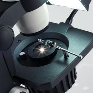 Motic Microscopio stereo zoom GM-168, binoculare, set