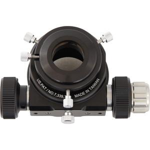 """Omegon Porte oculaire articulé en acier inoxidable diamètre 50,8mm (2"""") Schmidt Cassegrain, double flexibilité"""