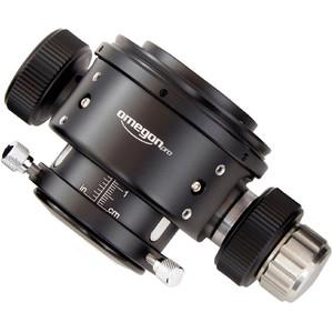 Porte-oculaire Omegon Porte oculaire articulé Crayford Steeltrail diamètre 50,8mm (2'') pour tube Newton, double vitesse