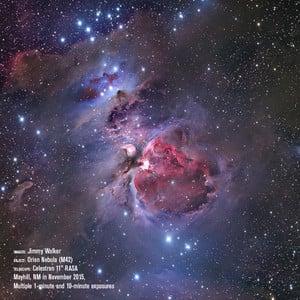 Télescope Celestron Astrograph S 279/620 RASA 1100 V1 OTA