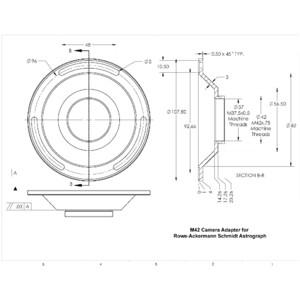 Celestron Teleskop Astrograph S 279/620 RASA 1100 OTA