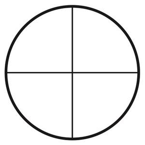 Motic Réticule croisé gradué pour oculaire (Ø25mm)