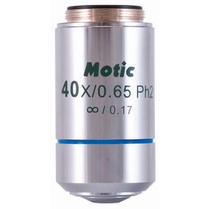 Motic Objectif plan apochromatique à phase positive , CCIS EC-HN PLPH 40x/0.65 (AA=0,5mm)