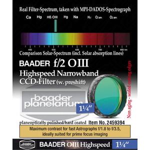 """Baader Filters OIII Highspeed f/2 1.25"""""""
