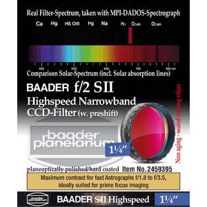 "Baader Filters SII Highspeed f/2 1.25"""