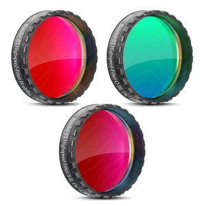 "Baader Filtro Set filtri H-Alfa, OIII, SII Highspeed f/2, 1,25"""