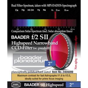 """Baader Filtro SII Highspeed f/2 2"""""""