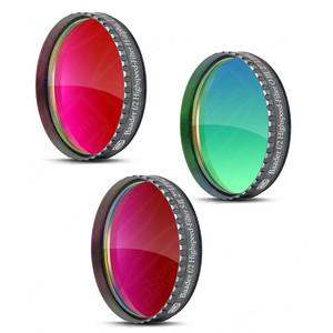 "Baader Filtro Set filtri H-Alfa, OIII, SII Highspeed f/2, 2"""