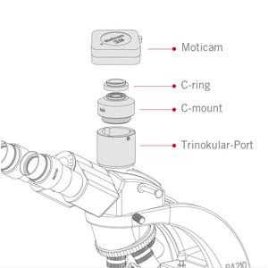 "Motic Camera X3, color, CMOS, 1/3"", 4MP,  WI-FI"
