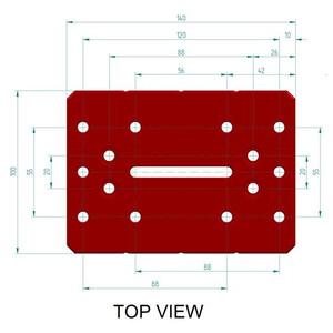 PrimaLuceLab Raíl prismático PLUS de estilo Losmandy de 140mm