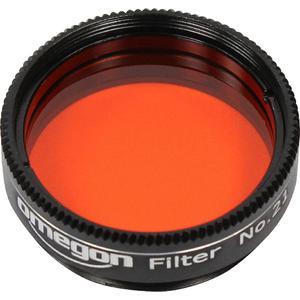"""Omegon Filtro de color de naranja de 1,25"""""""